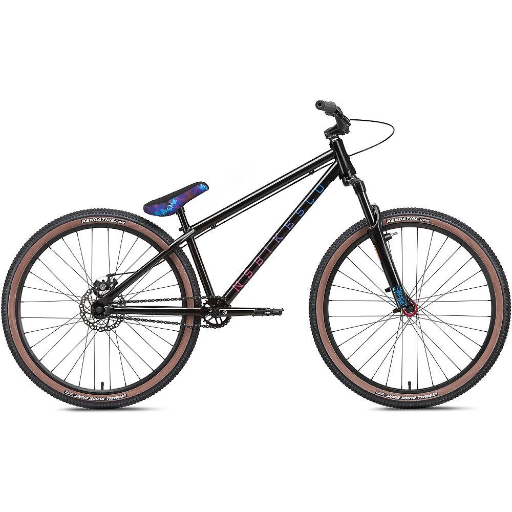 "NS Bikes Metropolis 3 Dirt Jump Bike 2021 - Black - 26"", Black"