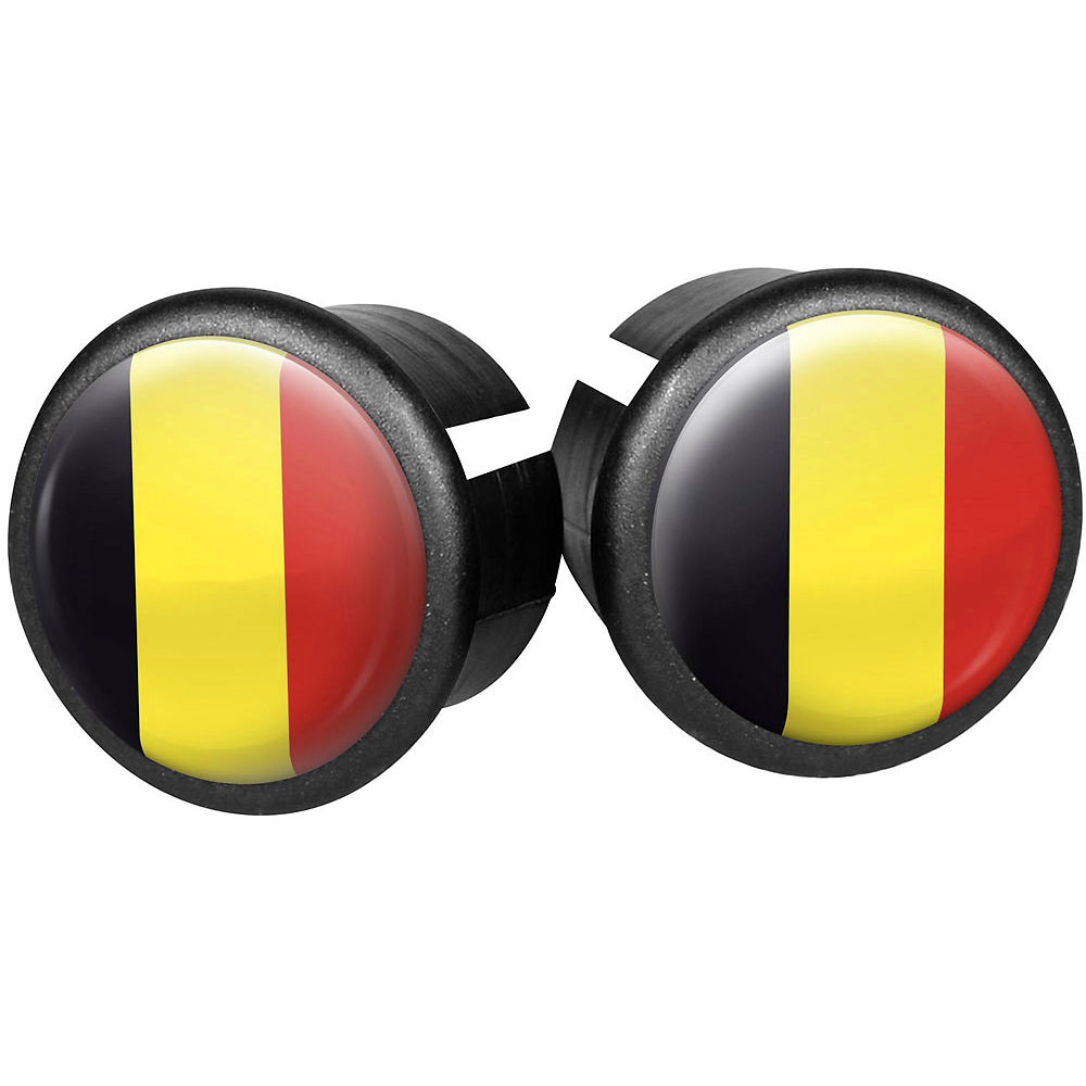 Image of Velox Flag Bar End Plugs - Belgium, Belgium