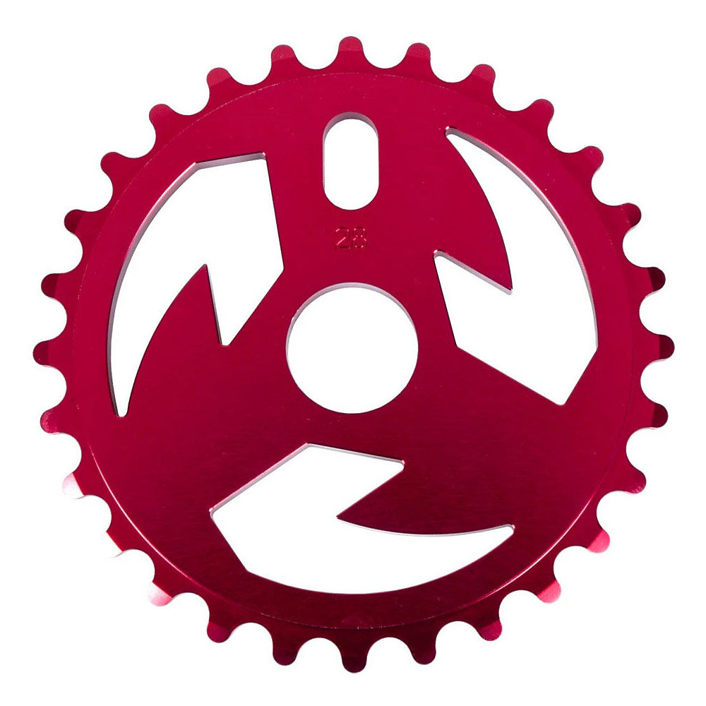 Image of Tall Order Logo BMX Sprocket - Rouge - 28t, Rouge