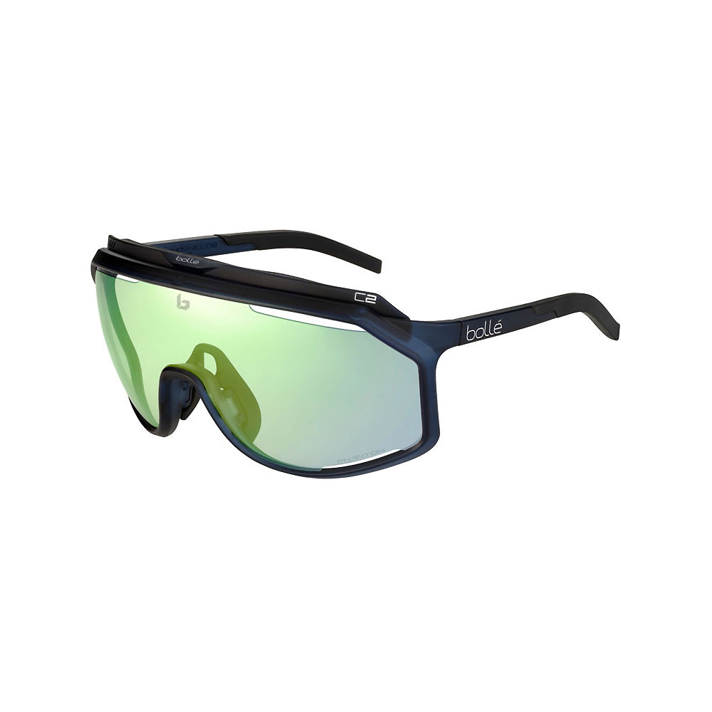 Image of Bolle Chronoshield Matte - Crystal Navy Clear Green, Crystal Navy Clear Green