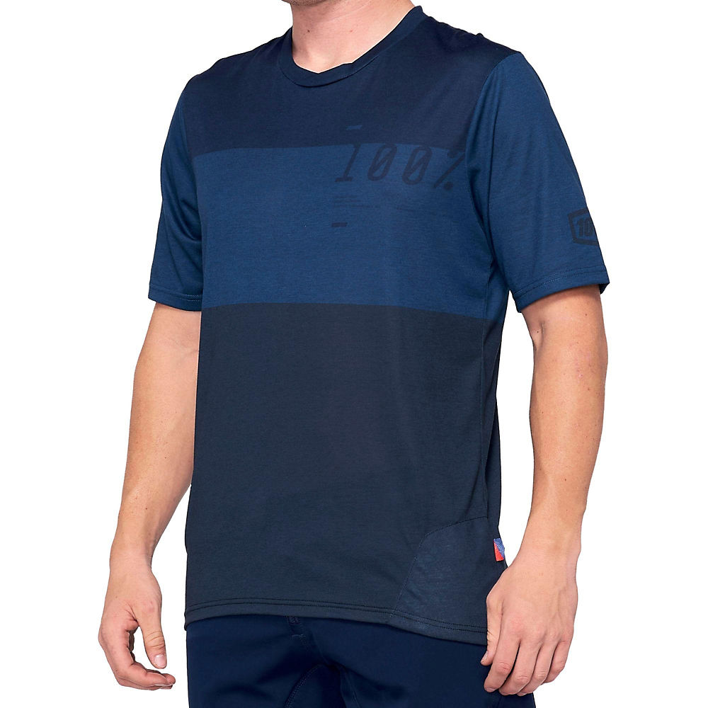 100% Airmatic Jersey  - Navy-Blue, Navy-Blue