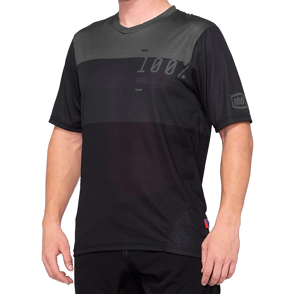 100% Airmatic Jersey  - grey-black, grey-black