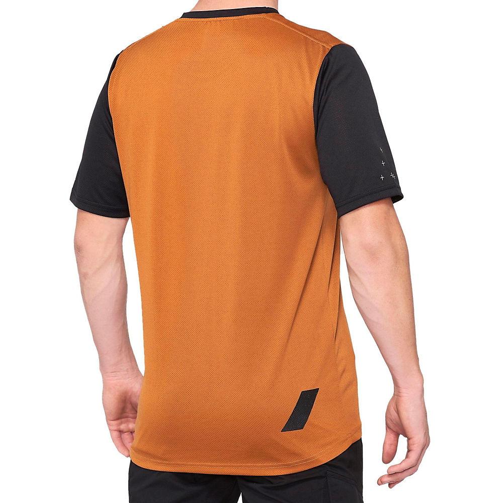 100% Ridecamp Jersey  - Orange-black - Xl  Orange-black