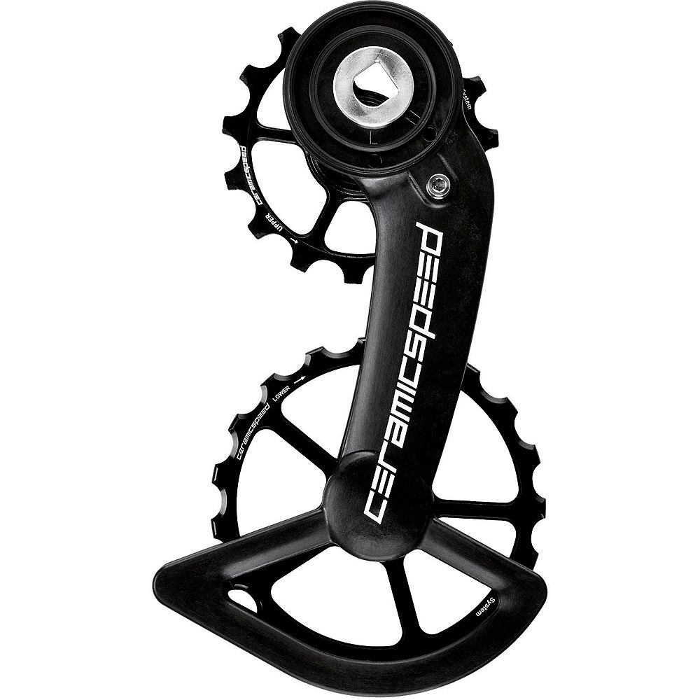 CeramicSpeed OSPW System SRAM Red-Force AXS - Negro - Non Coated, Negro