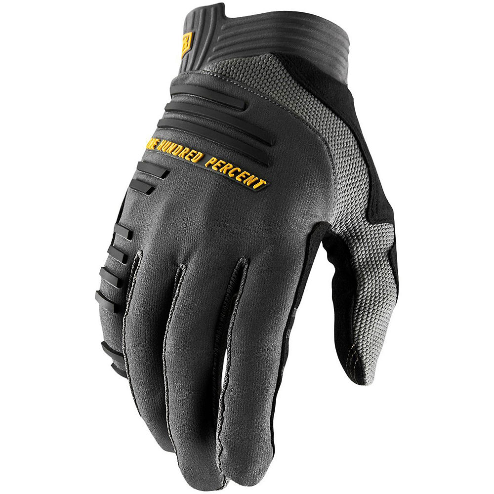 100% R-Core Gloves  - Grey, Grey
