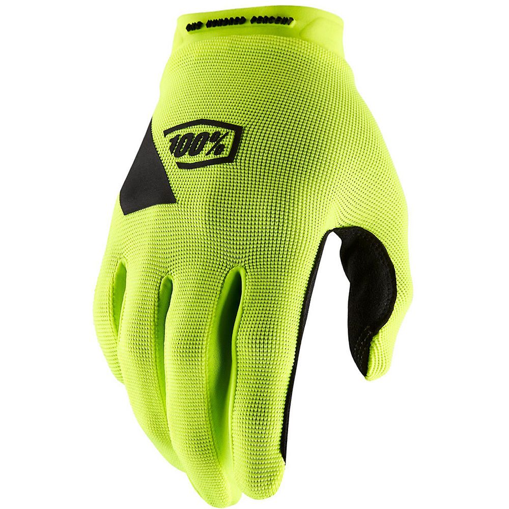 100% Ridecamp Gloves - Fluro Yellow, Fluro Yellow