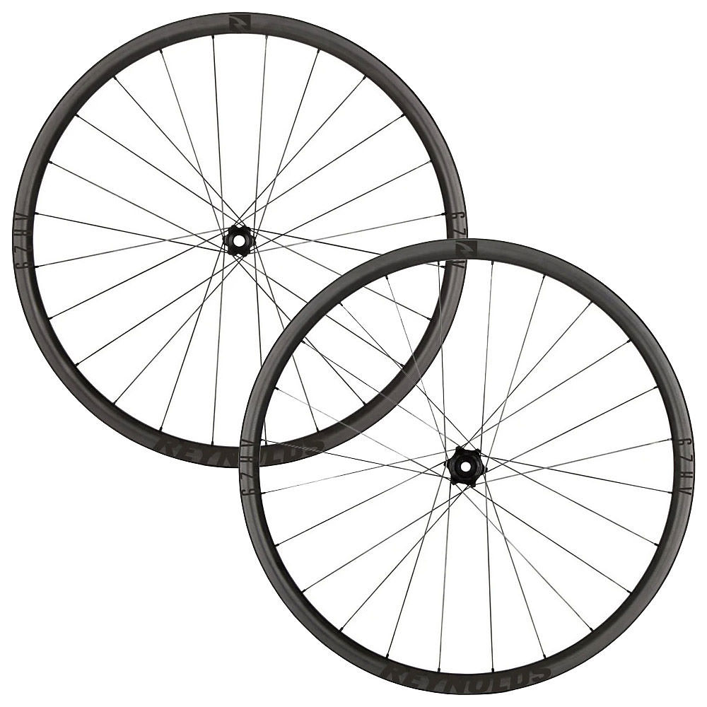 Image of Reynolds AR 29 Carbon Disc Road Wheelset - Noir - Shimano, Noir