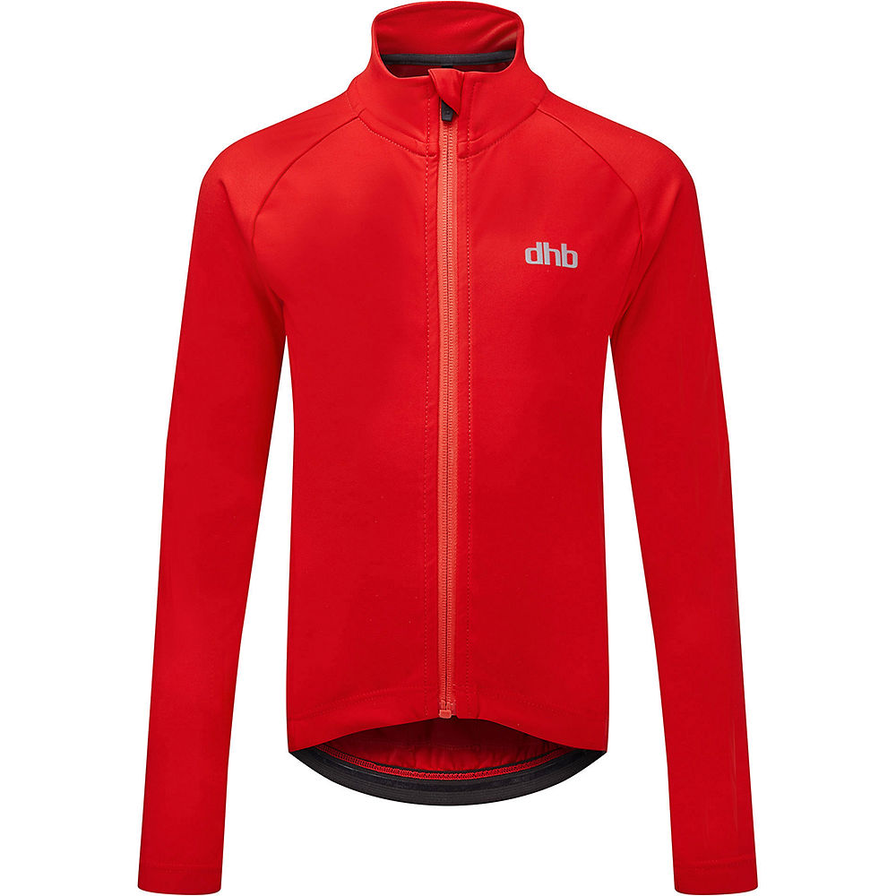 dhb Kids Long Sleeve Jersey - Red - 6-7 Years, Red