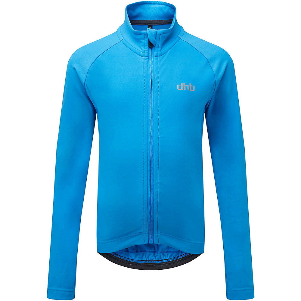 dhb Kids Long Sleeve Jersey - Turquoise - 12-13 Years, Turquoise