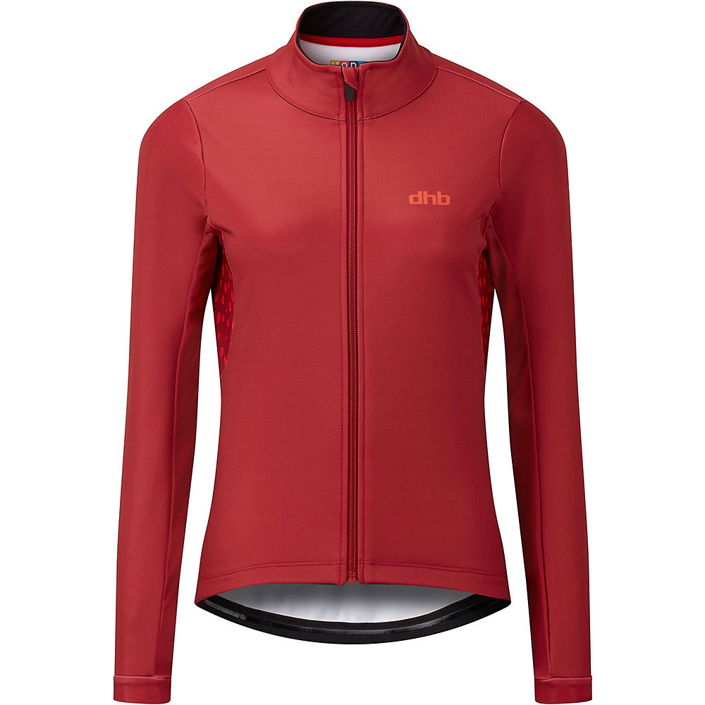 Dhb Moda Womens Thermal Softshell - Juniper  - Jester Red - Uk 8  Jester Red