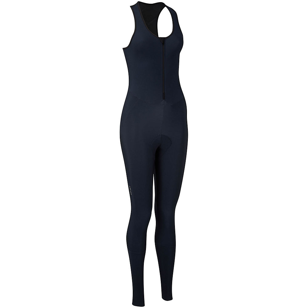 Dhb Moda Womens Classic Thermal Bib Tights - Navy - Uk 14  Navy