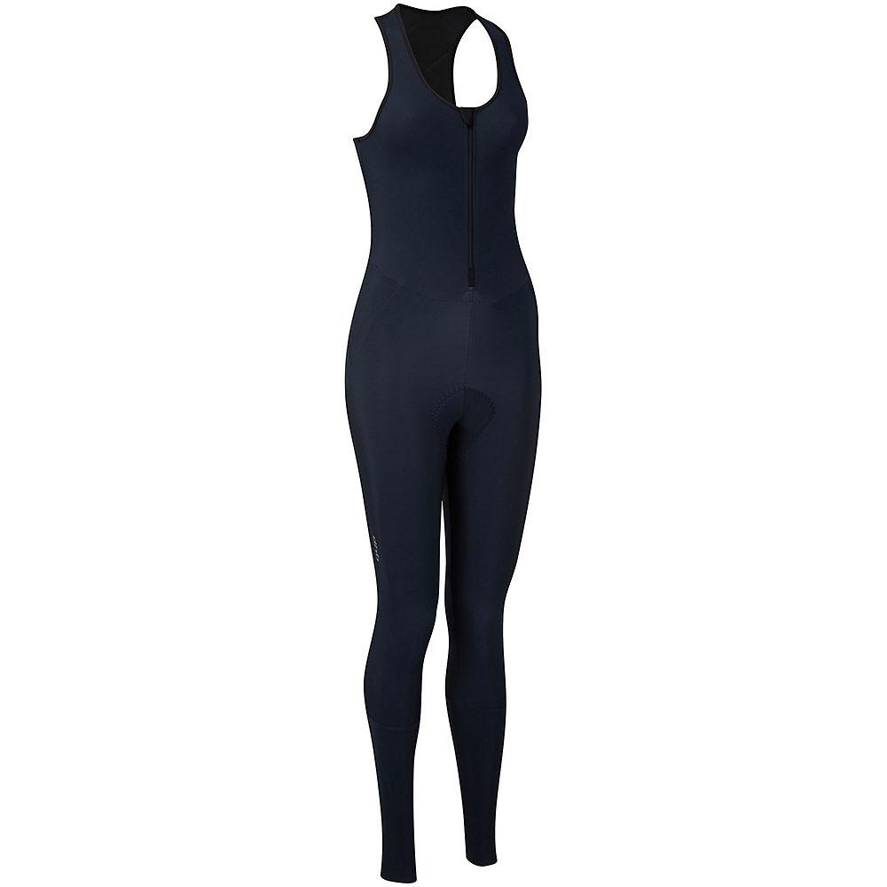Dhb Moda Womens Classic Thermal Bib Tights - Navy - Uk 10  Navy