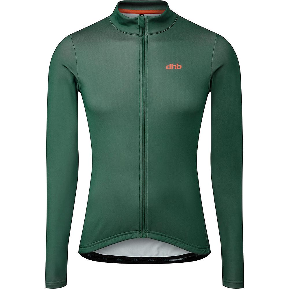 Dhb Classic Long Sleeve Jersey  - Green  Green