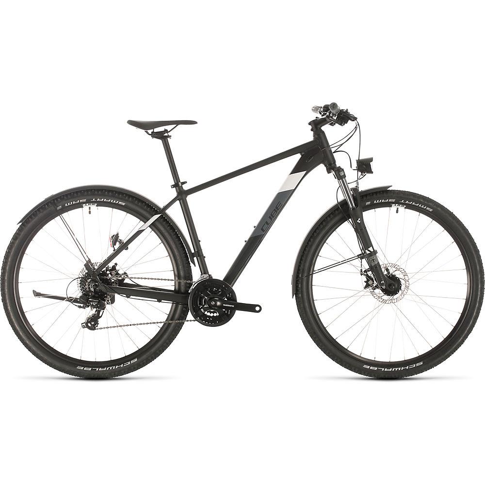 Cube Aim Allroad Hardtail Bike (2020) 2020 - nero - bianco - 16.25
