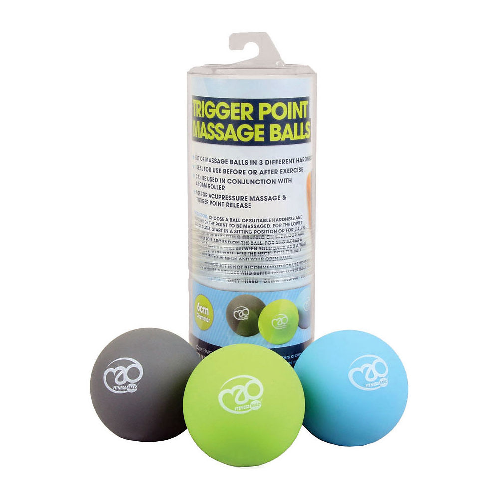 Fitness-mad Trigger Point Massage Ball Set - Neutral  Neutral