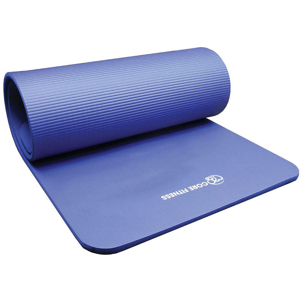 Fitness-mad Core Fitness Mat (10mm) - Blue  Blue