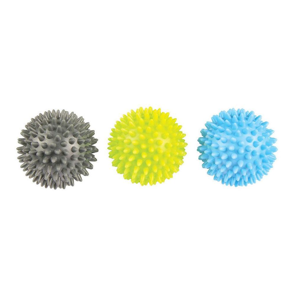 Fitness-mad Spikey Massage Ball (set Of 3) - Neutral  Neutral