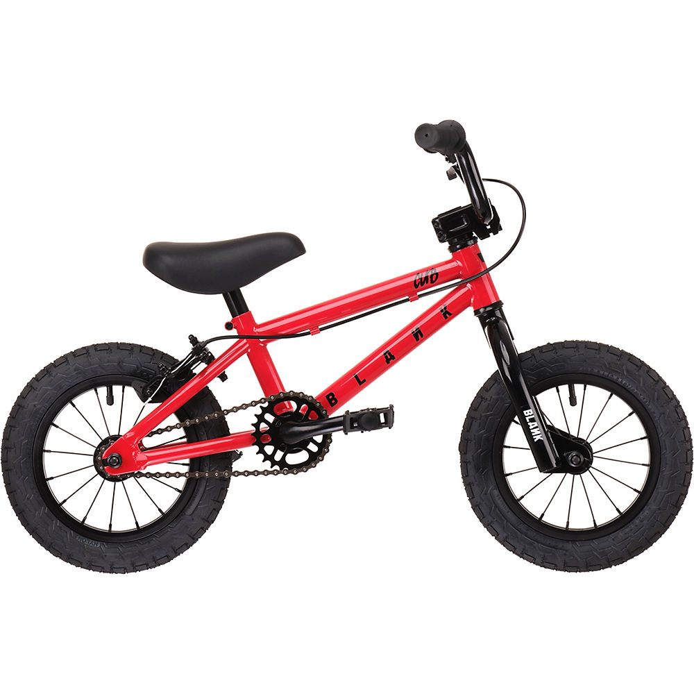 Blank Cub BMX Bike - Red - 12