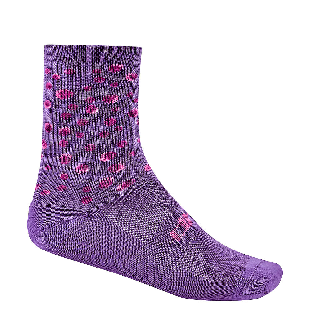 Dhb Moda Sock 16cm - Aster  - Purple-pink - S/m  Purple-pink