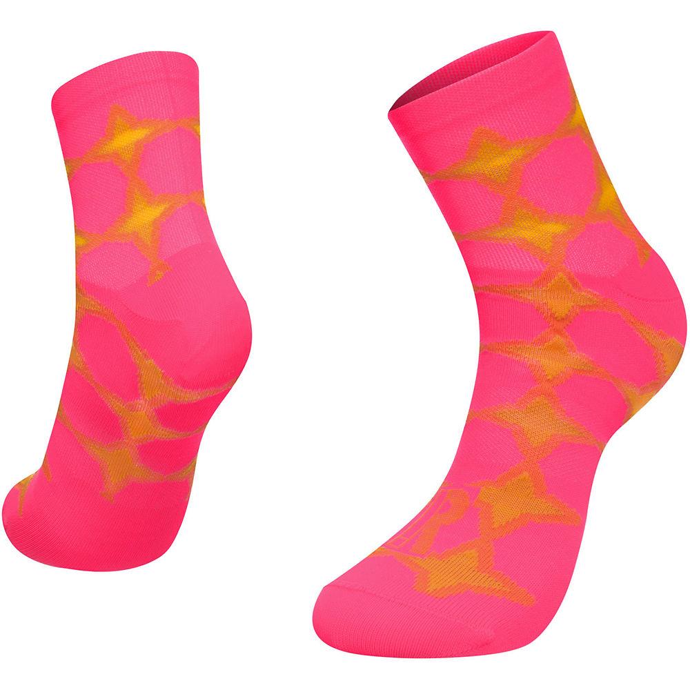Ratio 10cm Sock - Trance  - Pink-orange - S/m  Pink-orange