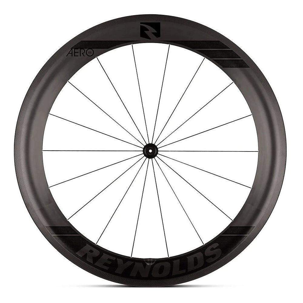 Image of Reynolds Aero 65 Carbon Front Road Wheel - Noir - 700c, Noir