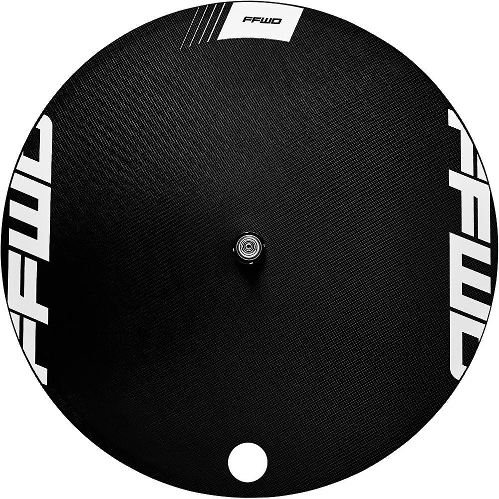 Fast Forward Disc 1k Tubular Track Rear Wheel - White - 700c  White