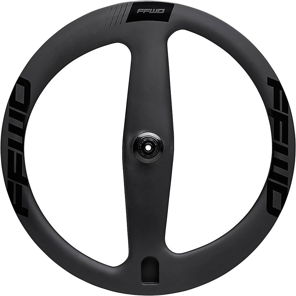 Image of Fast Forward 2 Spoke Tubular Track Rear Wheel - Noir - 700c, Noir