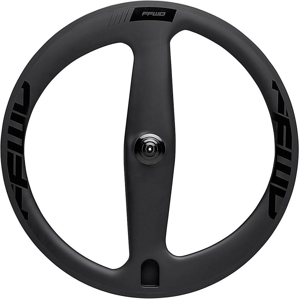 Image of Fast Forward 2 Spoke Clincher TT-Tri Front Wheel - Noir - 700c, Noir