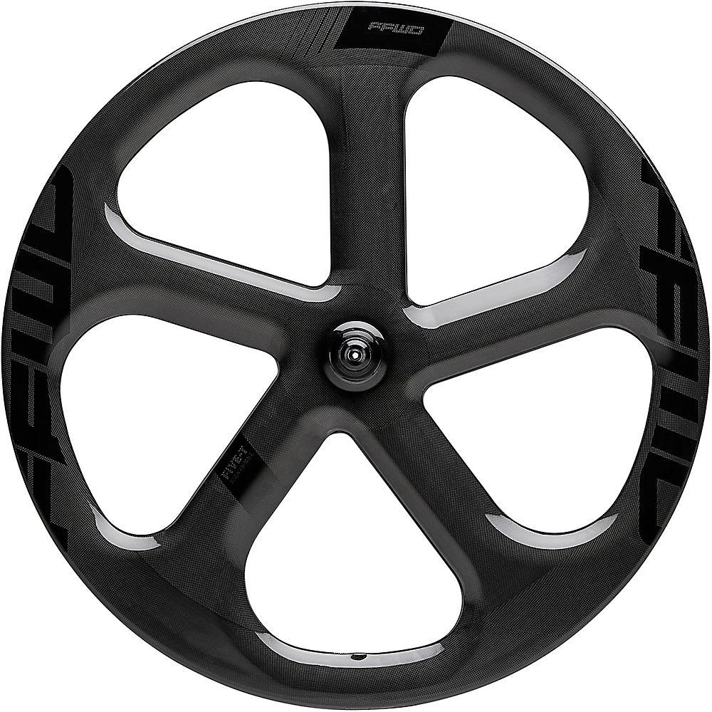 Image of Fast Forward 5 Spoke 1k Tubular Track Front Wheel - Noir - 700c, Noir