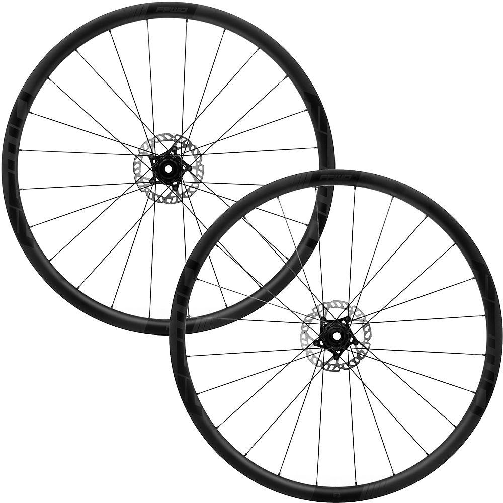 Cycling Fast Forward F3D DT240 Carbon Road Wheelset - Black - Shimano, Black