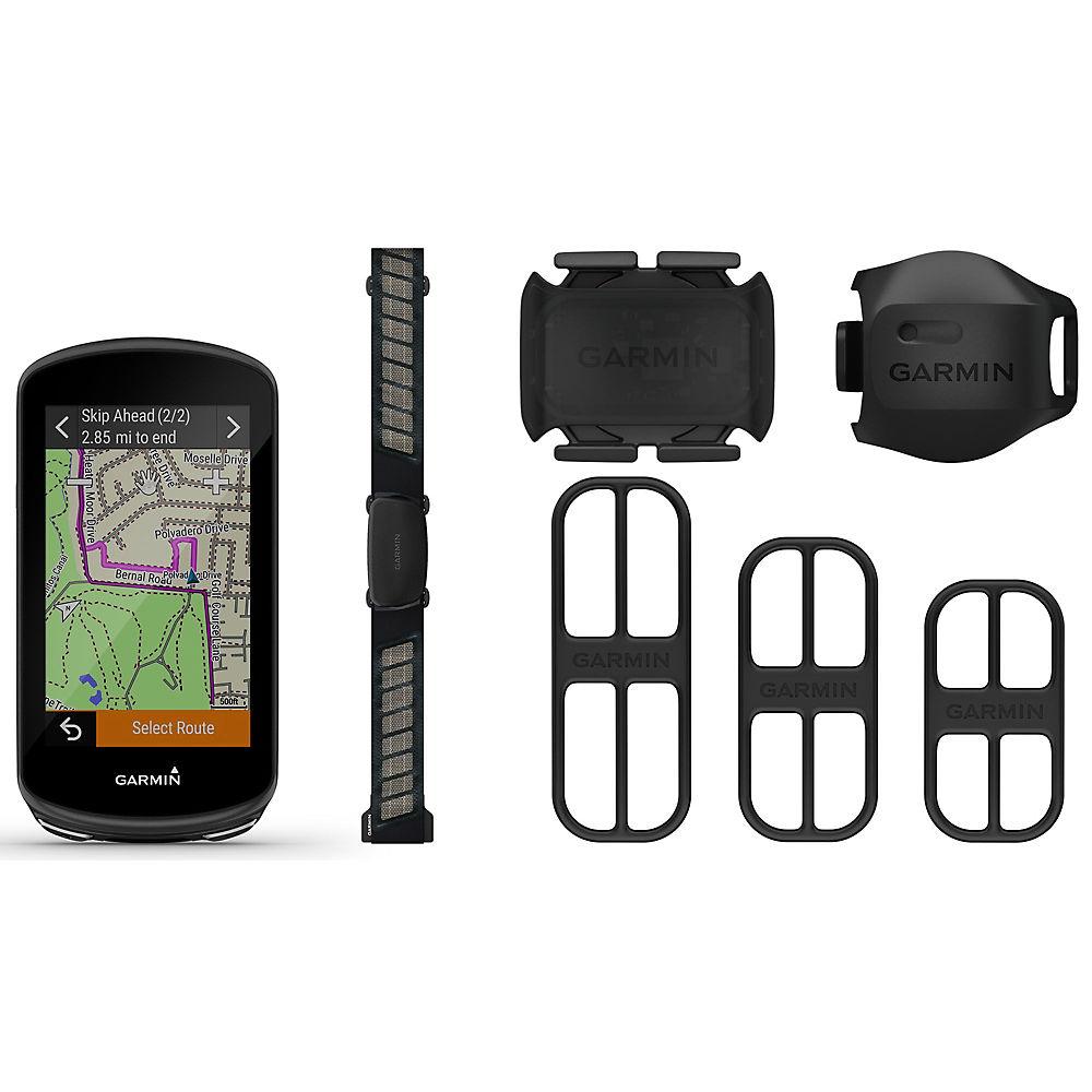 Garmin Edge 1030 Plus GPS Computer Bundle - Negro, Negro