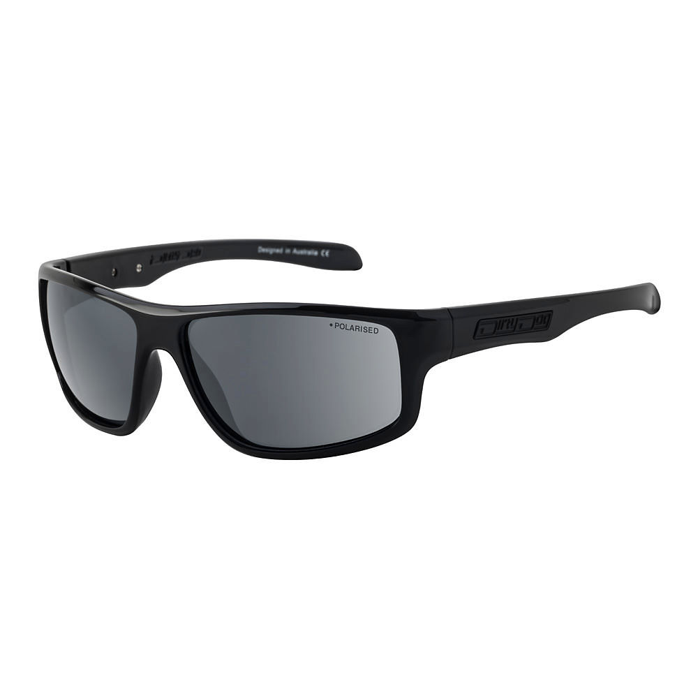 Image of Dirty Dog Quantum Polarised Sunglasses - black grey, black grey