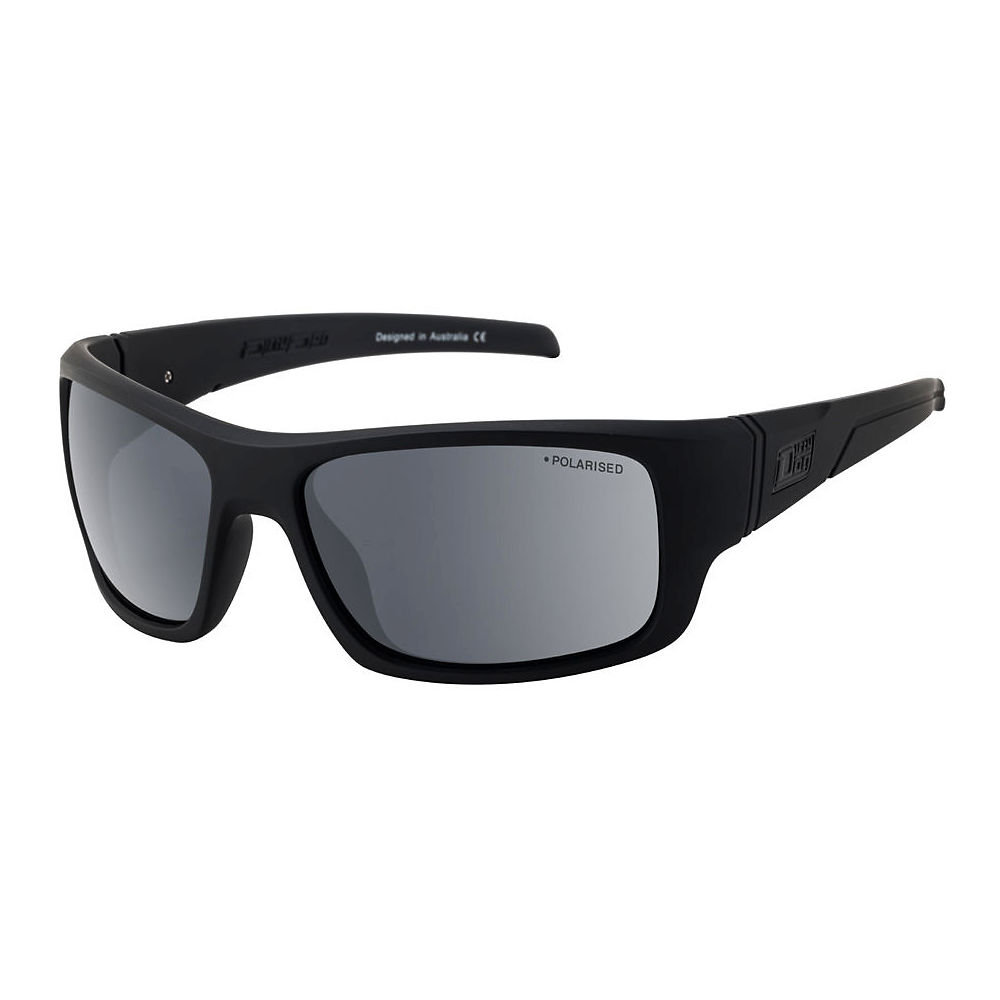 Image of Dirty Dog Stray Satin Polarised Sunglasses - black grey, black grey