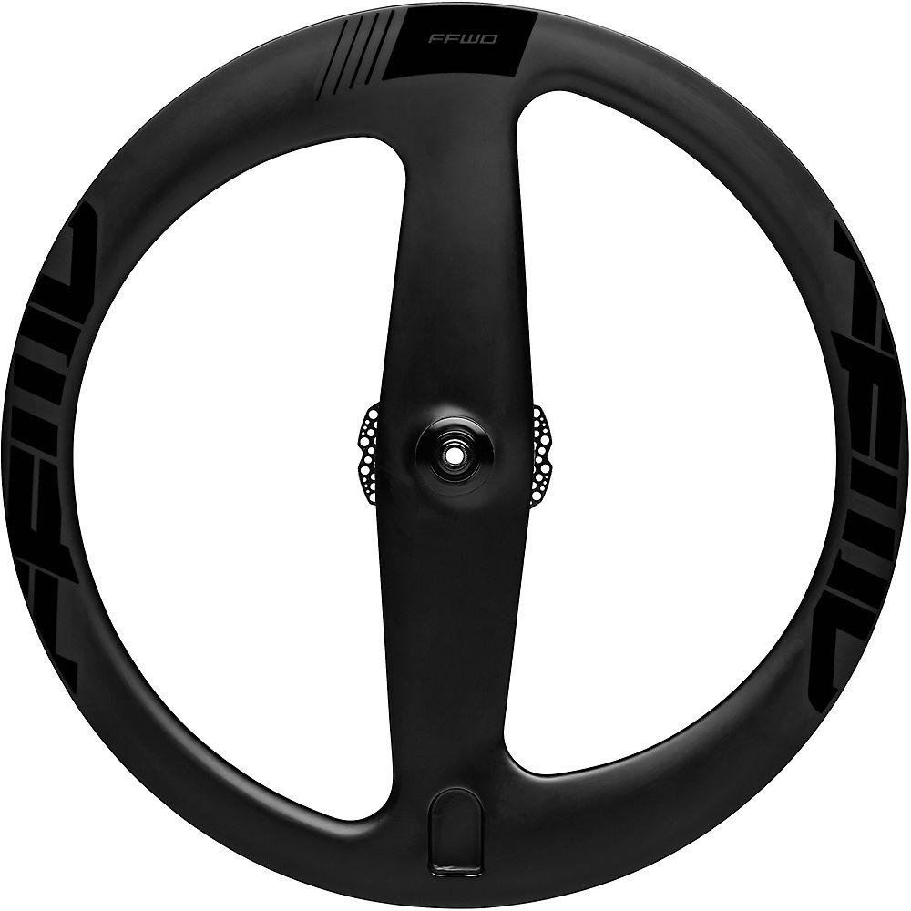 Image of Fast Forward 2 Spoke Clincher Disc TT-Tri Front Wheel - Noir - 700c, Noir