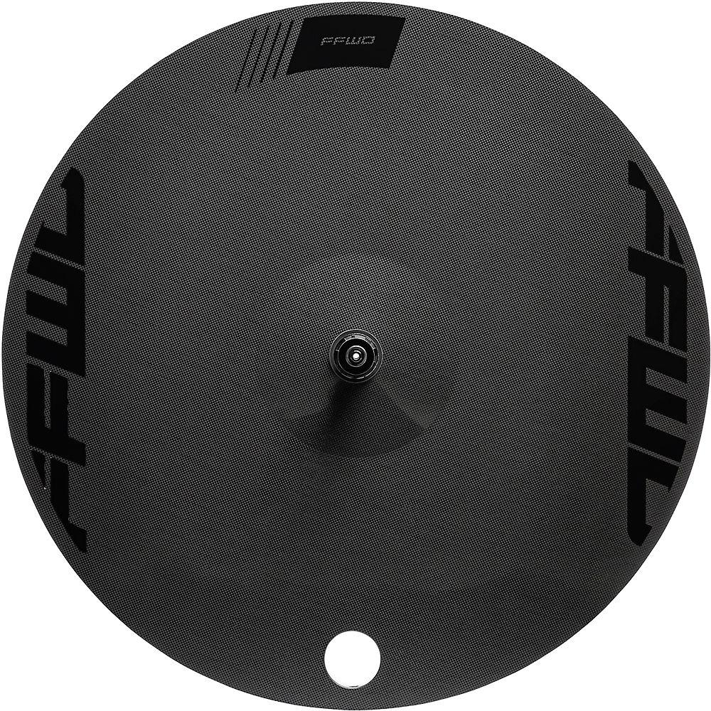 Image of Fast Forward Disc 1k Clincher TT-Tri Rear Wheel - Noir - 700c, Noir