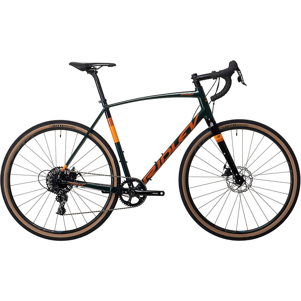 Bicicleta Ridley Kanzo A Adventure (Apex 1 - 2021) 2021 - Verde, Verde