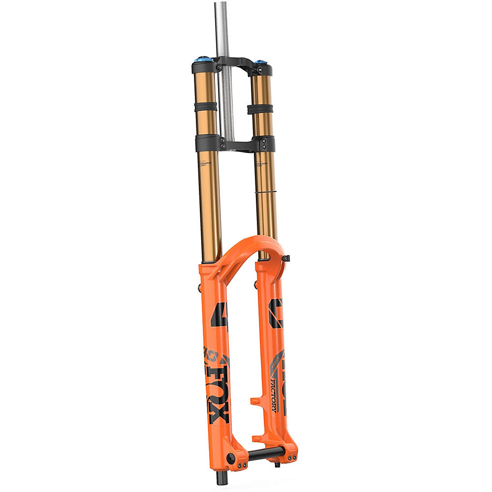 Fox Suspension 40 Float Factory Grip2 Fork 2021 - Naranja - 203mm Travel, Naranja