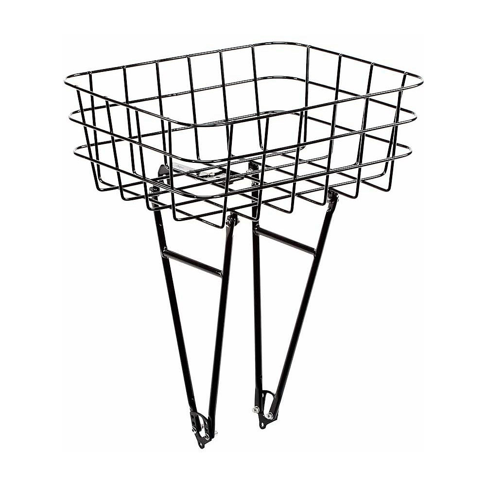 Image of Pelago Front Rasket Bike Rack Basket - Noir, Noir