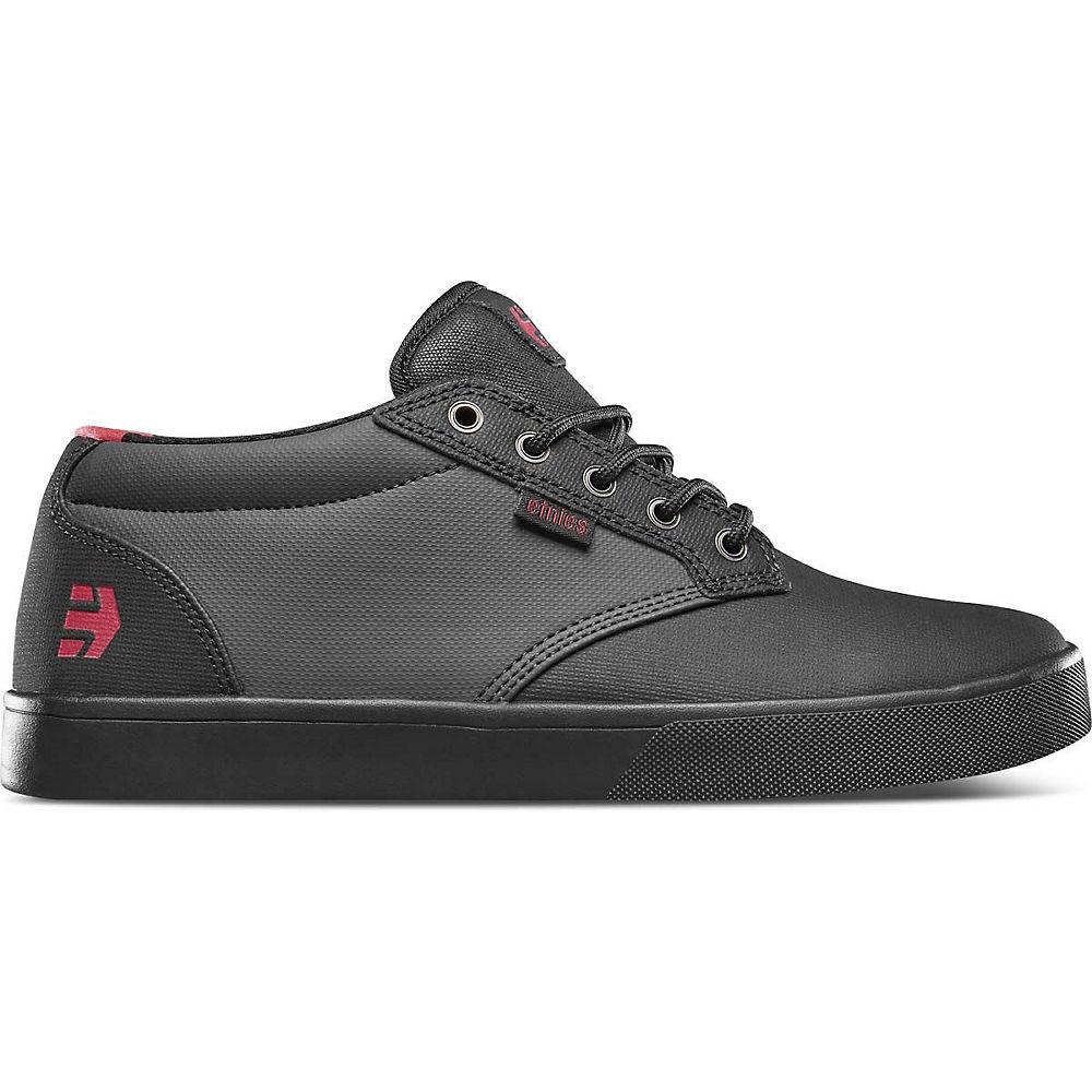 Etnies Jameson Mid Crank Shoes 2020 - Black-dark Grey-red - Uk 9  Black-dark Grey-red