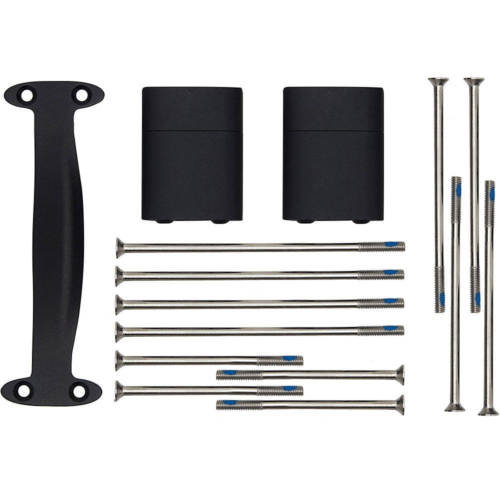 Prime Noosa Tt Aero Handlebar Riser Kit - Black - 60mm  Black