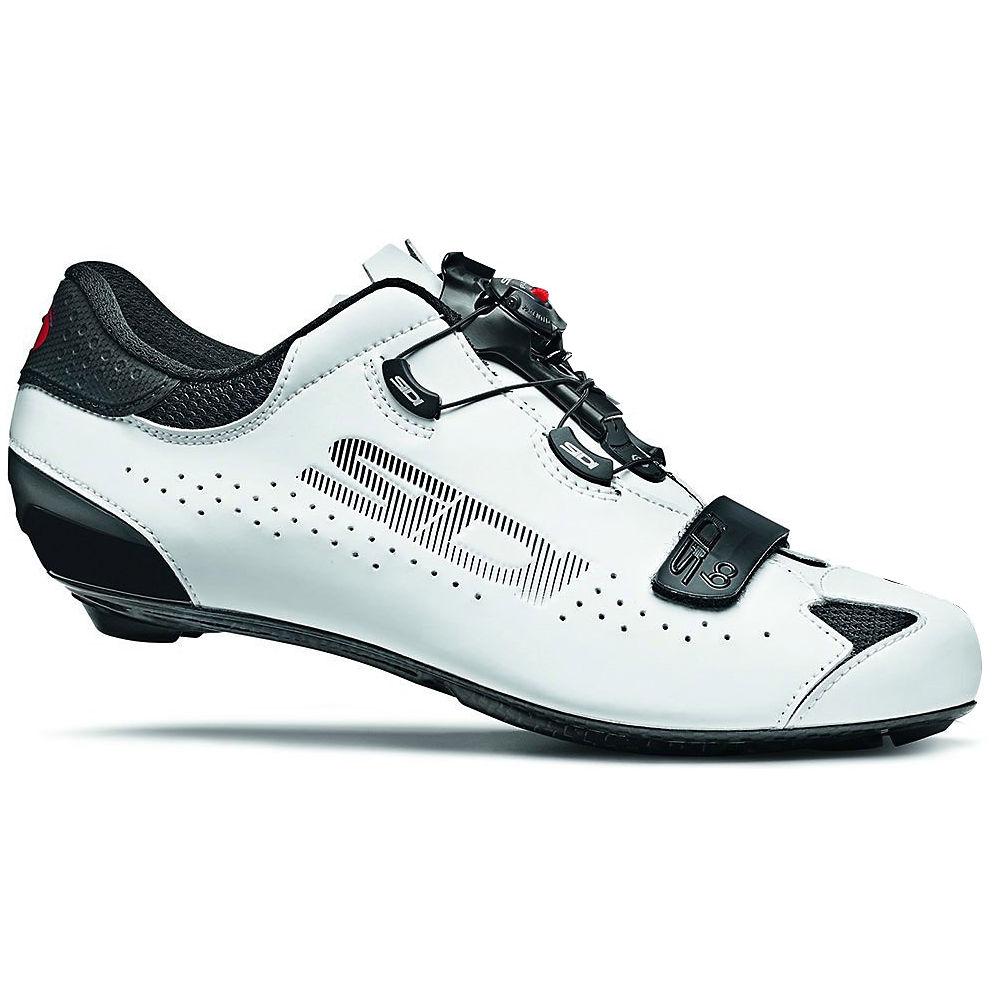Sidi Sixty Road Shoes - Black-white - Eu 42  Black-white