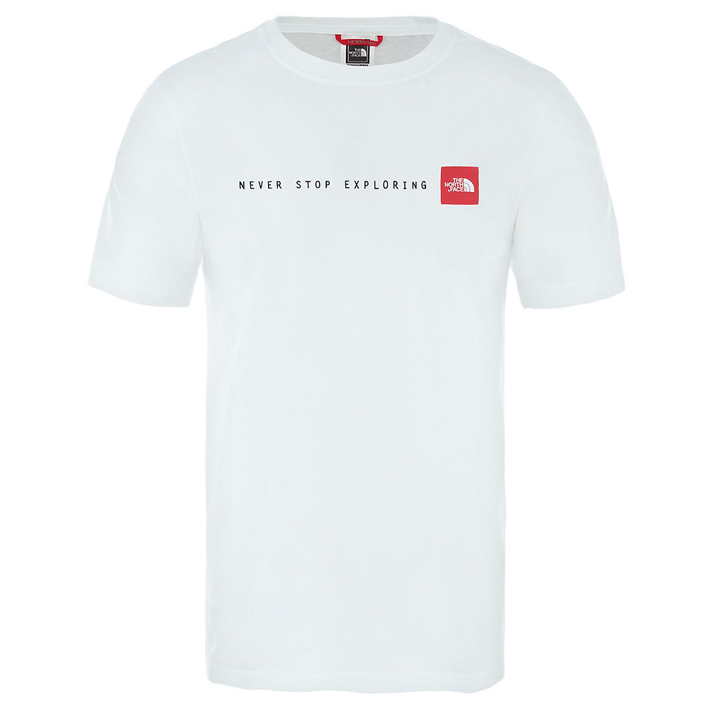The North Face Nse Tee  - Tnf White-tnf Red - M  Tnf White-tnf Red