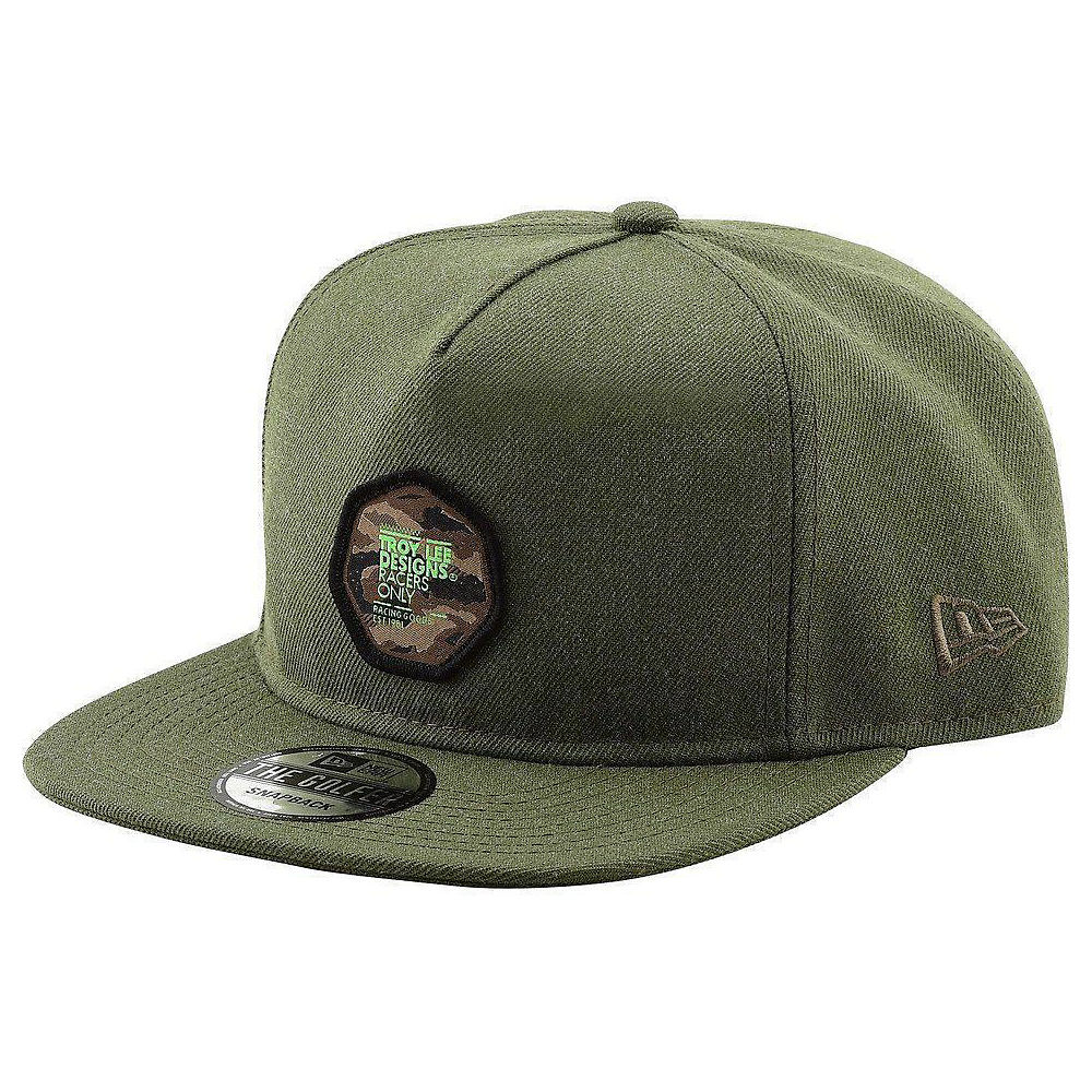 Troy Lee Designs Race Camo Snapback  - Army - One Size, Army