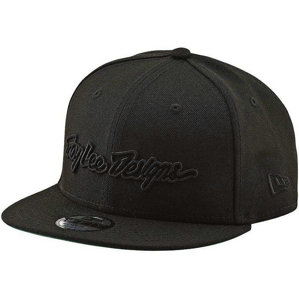 Troy Lee Designs Youth Classic Signature Snapback 2019 - Negro - One Size, Negro