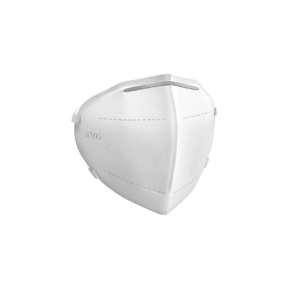 Image of HG KN95 Anti-Pollution Face Masks - 10 Pack - Blanc, Blanc