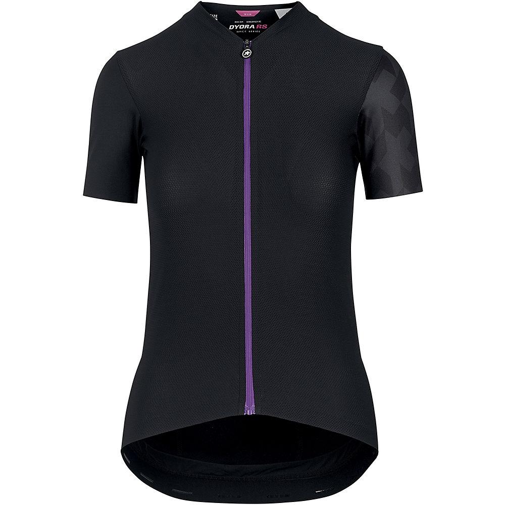 Assos Womens Dyora Rs Aero Ss Jersey - Black Series - Xl  Black Series