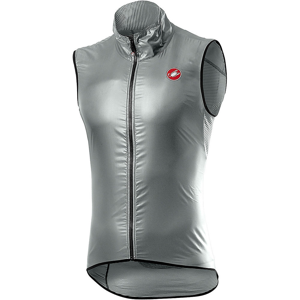 ComprarCastelli Aria Vest Gilet  - Silver Gray - M, Silver Gray