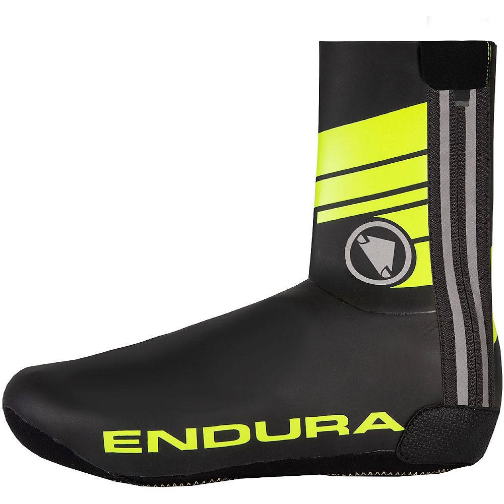 Endura Road Overshoes 2020 - Amarillo de alta visibilidad, Amarillo de alta visibilidad