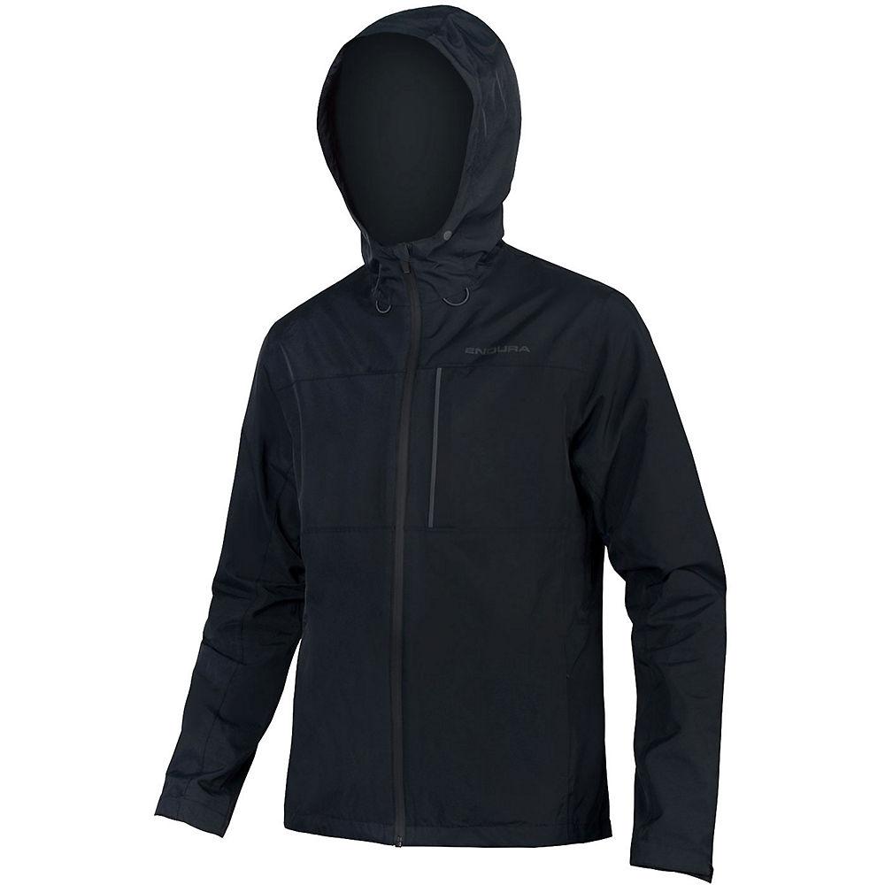 Endura Hummvee Waterproof Hooded MTB Jacket - Black, Black