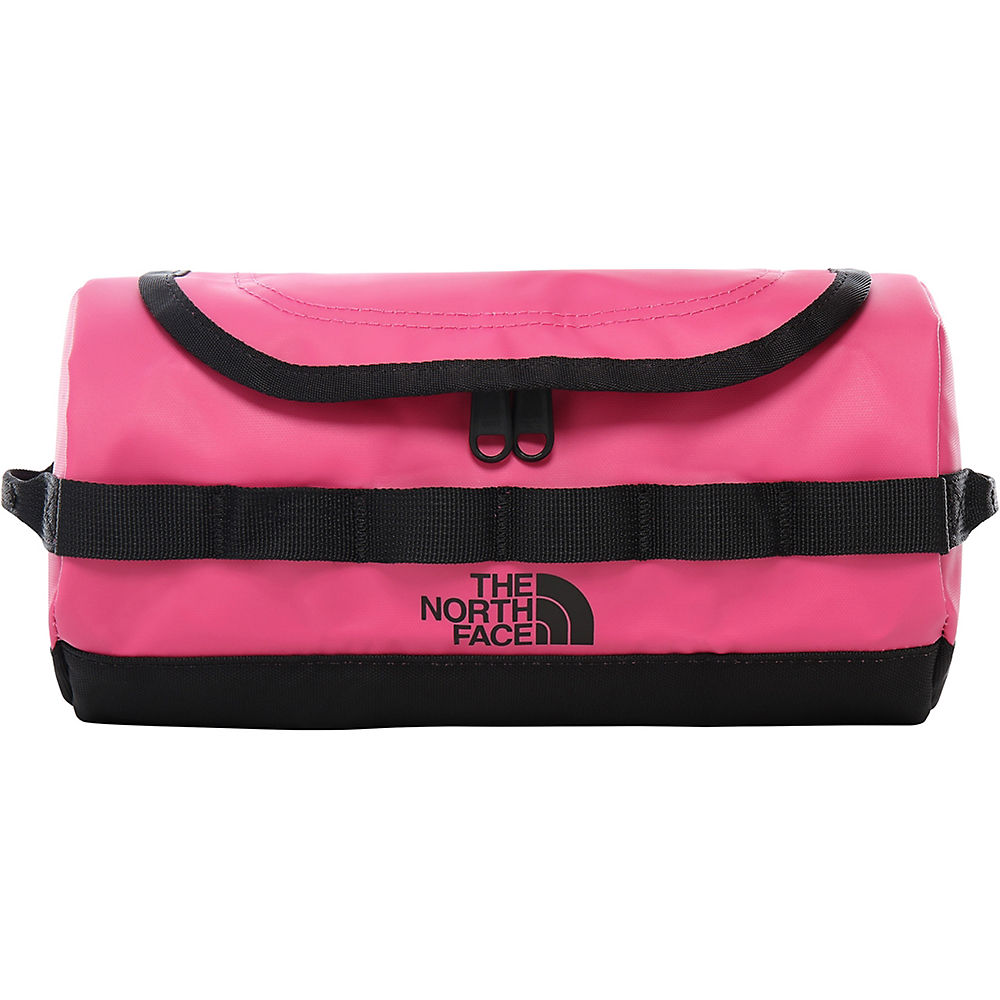 The North Face Base Camp Travel Canister (Small)  - Mr Pink-TNF Black - One Size, Mr Pink-TNF Black